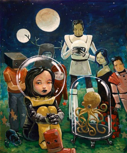 Aaron Jasinski - A Joke akes light years to get
