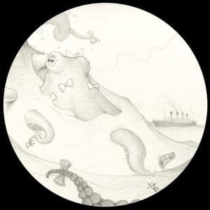 Mark Elliott - Big Hunter - drawing