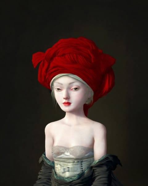 Ray Caesar - Girl in a Red Chaperon