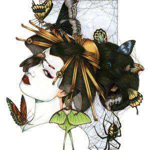 Zoe Lacchei - Geisha with Spiders