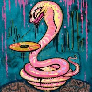 Camille Rose Garcia - The Serpent of Enceladus