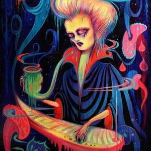 Camille Rose Garcia - The Ballad of Neptune
