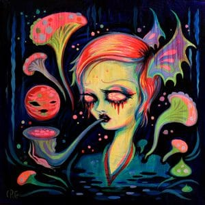 Camille Rose Garcia - The Song of Mercury