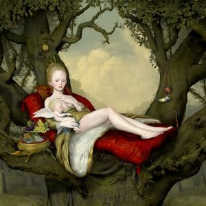 "Ray Caesar ""Mother and Child"""