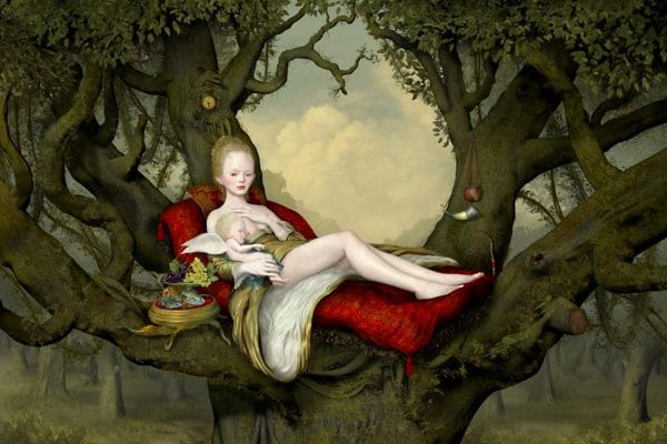 """Ray Caesar """"Mother and Child"""""""