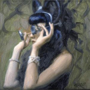 Dorian Vallejo- Girl with Specs