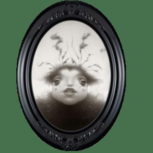 Travis Louie- Miss Buzzy in miniature