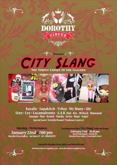 City Slang - Locandina