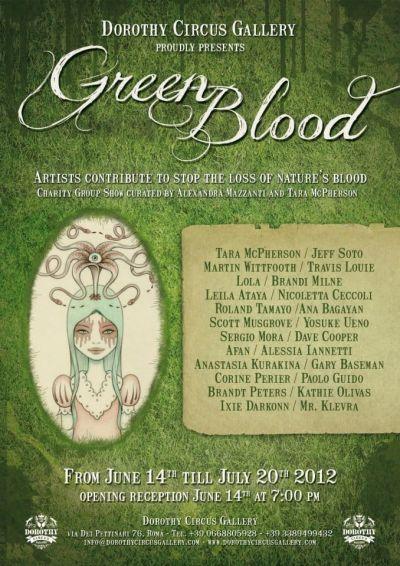 Green Blood - Locandina