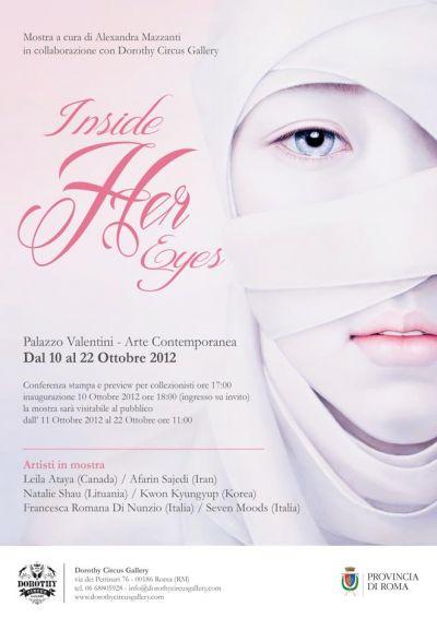 Inside her Eyes - Locandina