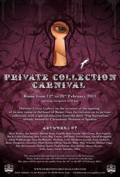 "Poster ""Private Collection Carnival"""