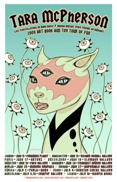 Tara McPherson - Tour Poster