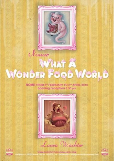 What a Wonderfood World - Locandina