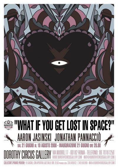 What if you get lost in space? - Locandina
