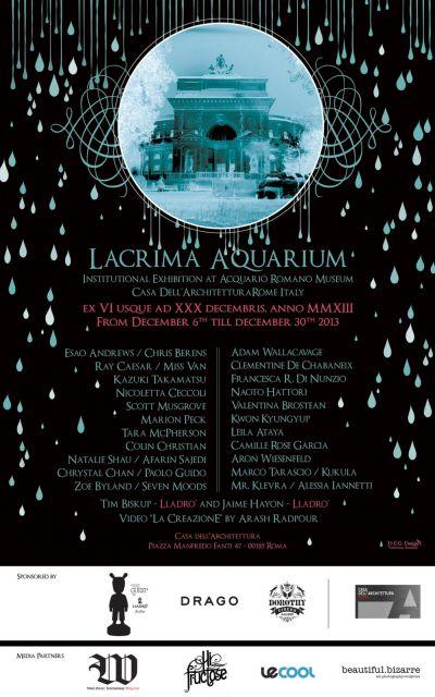 lacrima-aquarium-poster