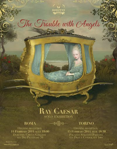 "Poster ""The Trouble with Angels"" by Ray Caesar"