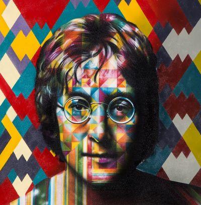 Eduardo Kobra - John Lennon