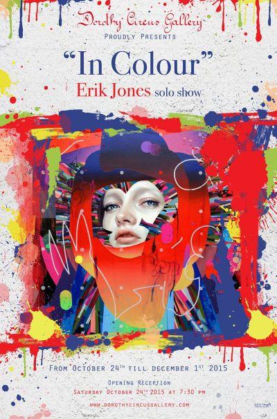 "Poster ""In Colour"" by Erik Jones"