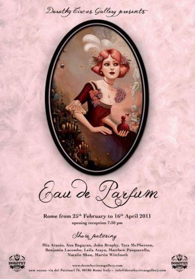 """Poster """"Eau de Parfum"""""""